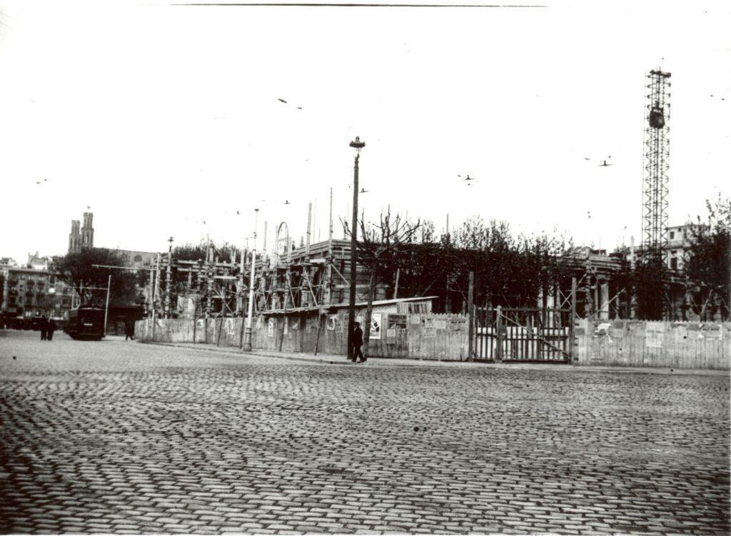 Construcció de la Escuela Oficial de Náutica de Barcelona. 1931