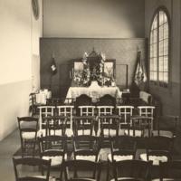 Capella de la Escuela Oficial de Náutica. 1940-1950.