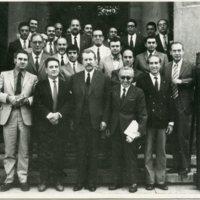 Claustre de la Facultat de Nàutica de Barcelona. 1969