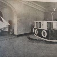 Sala de maniobres de la Escuela Oficial de Náutica. 1941