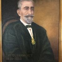 Ezequiel Calvet, director de la Escuela Gratuita de Náutica. 2019