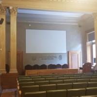 Sala d'Actes Sinibald Mas de la Facultat de Nàutica de Barcelona. 2019