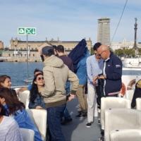 Sortida dels professors i personal d'administració i serveis de la Facultat de Nàutica de Barcelona en Golondrina. 2019