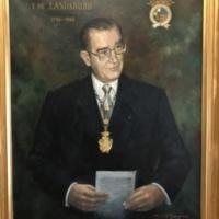 Ángel Urrutia y de Landaburu, director de la Escuela Oficial de Náutica y Máquinas. 2019