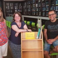 Equip de la biblioteca de la Facultat de Nàutica de Barcelona. 2019
