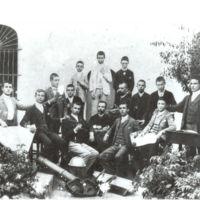 Retrat d'alumnes. 1900.