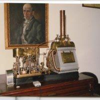 Reproducció de màquina de vapor de la Facultat de Nàutica de Barcelona. 1990-2010