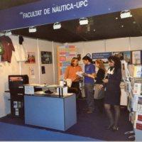 Paradeta de la Facultat de Nàutica de Barcelona del Saló Nàutic. 2002-2008?