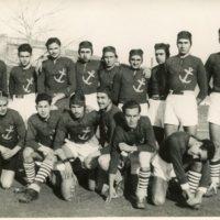 Equip de Rugbi de la Escuela Oficial de Náutica. 1941.