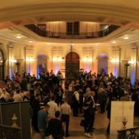 Sopar de benvinguda de la IAMU AGA a la Facultat de Nàutica de Barcelon. 2018