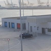 Edifici de l'espai Vela de la Facultat de Nàutica de Barcelona. 2019