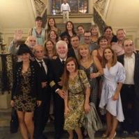 Assistents al sopar de gala del 250 aniversari de la Facultat de Nàutica de Barcelona. 2019.